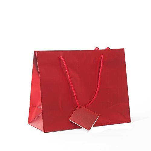 Shopper colours mat rosso 32